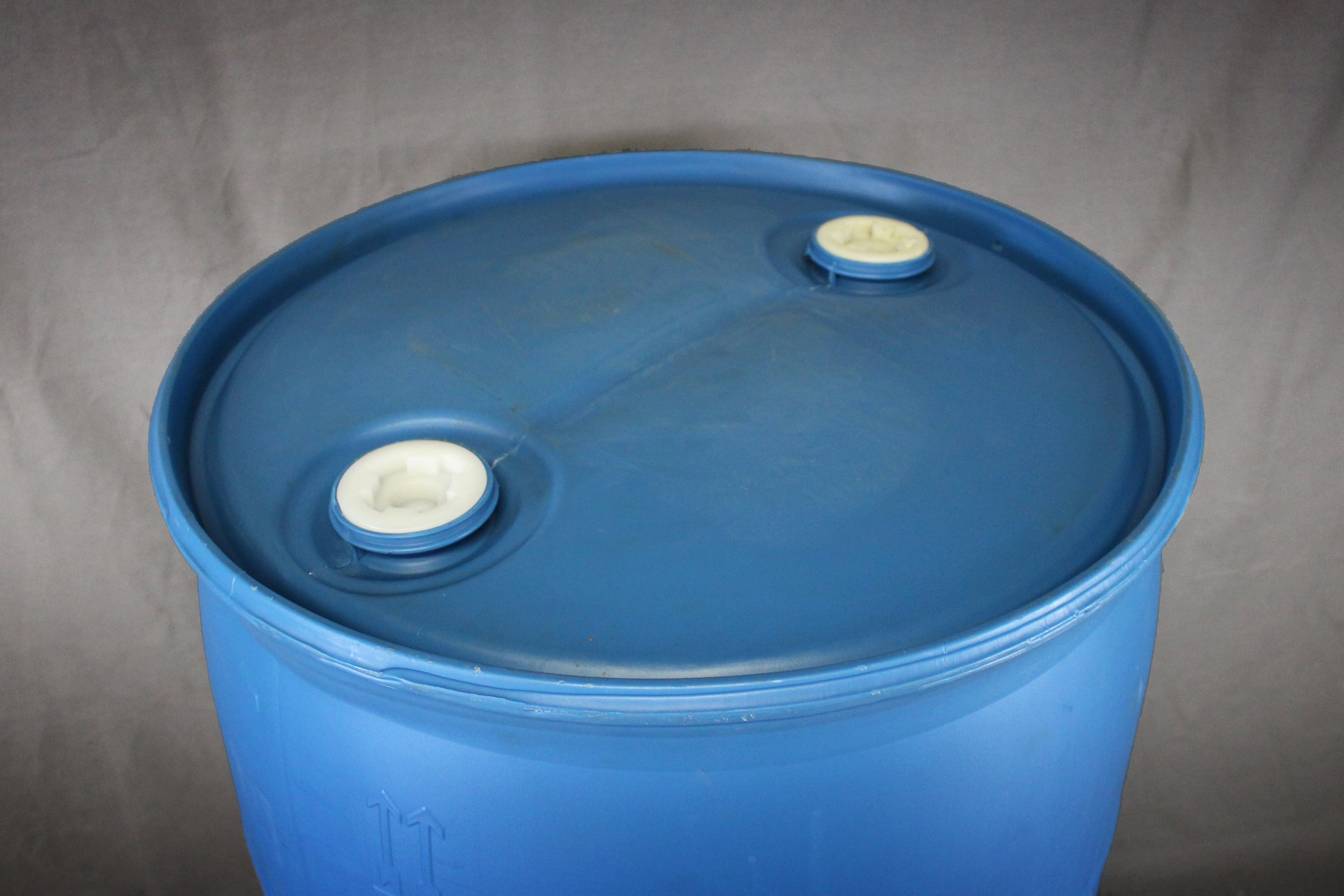 55 Gallon Closed Top Blue Poly Drum Reconditioned B