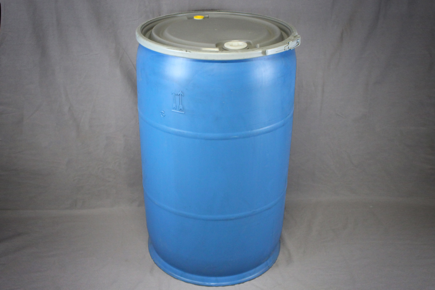 Home Poly Drums 55 Gallon Open Top Blue Hdpe Drum Reconditioned