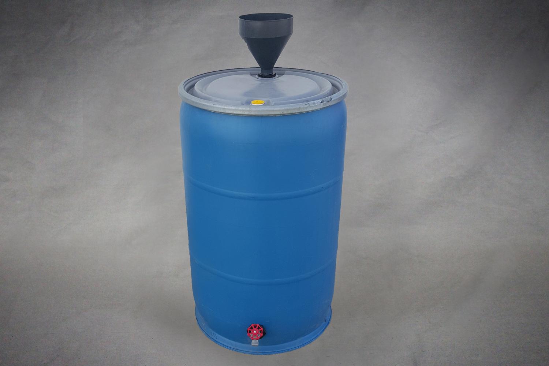 Rain Barrel 55 Gallon B Stephen Cooperage