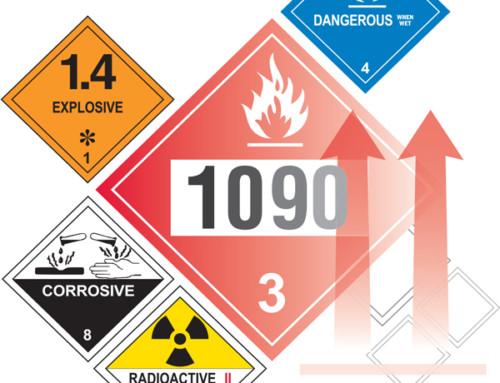 DOT Hazardous Materials Markings Guide (Chart 15)